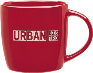 Red Culver 20-Ounce Colossal Ceramic Mug Set of 4